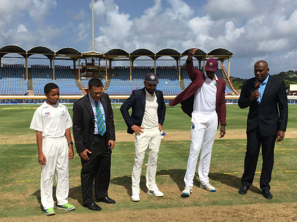 3rd Test: West Indies win toss, invite India to bat