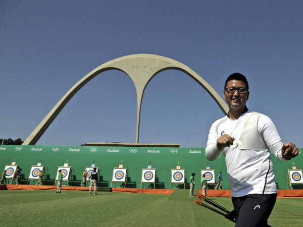 Rio 2016: World No 1 archer Kim Woo-jin suffers shock defeat in 2nd game