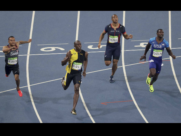 Rio 2016: 'Nervous' Usain Bolt storms into 200m semis - myKhel