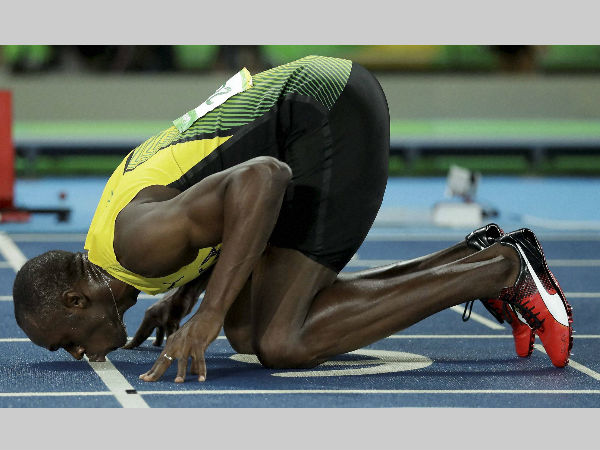 Rio Olympics: Usain Bolt reveals why he kissed the track ...