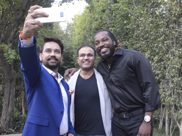 When 'triple centurions' Virender Sehwag, Chris Gayle indulged into a friendly banter