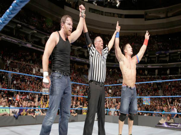 Will Cena and Ambrose get along, this week? (image courtesy wwe.com)