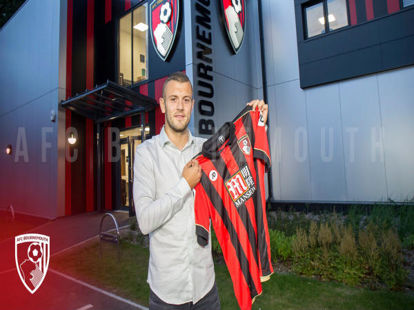 Official Arsenal Midfielder Jack Wilshere Join Afc Bournemouth Loan