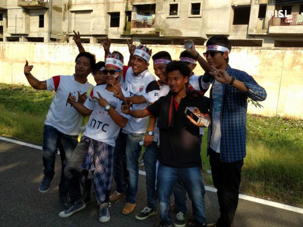NorthEast United FC fans