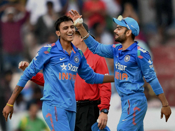 Axar Patel at No. 8: