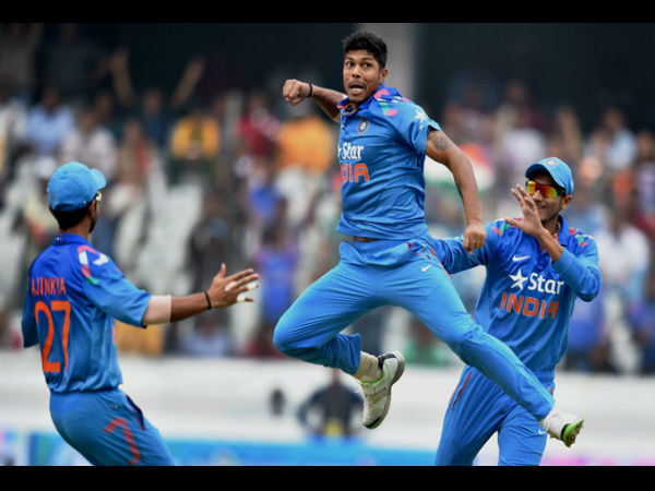 Umesh Yadav at No. 10