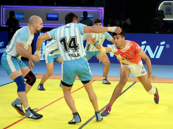 England Trounce Argentina 68 28 In Kabaddi World Cup