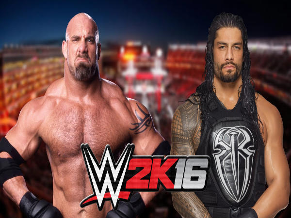 Goldberg Vs Roman Reigns (Image courtesy: Youtube)