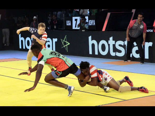 Kabaddi World Cup Kenya Beat Us Keep Semi Final Hopes Alive