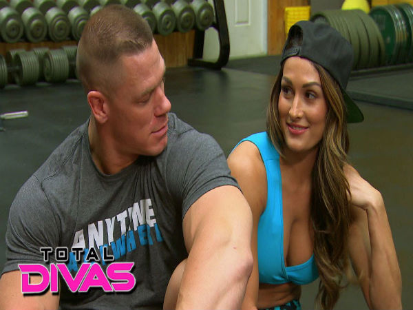 wwe john cena signed nikki bella a long contract to stay. Black Bedroom Furniture Sets. Home Design Ideas