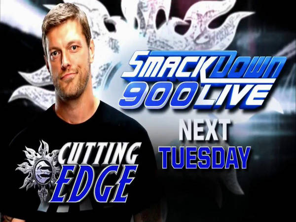 Edge returns next week (Image courtesy: Twitter)
