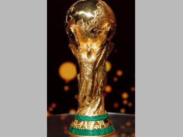FIFA World Cup trophy (Image courtesy: Twitter)