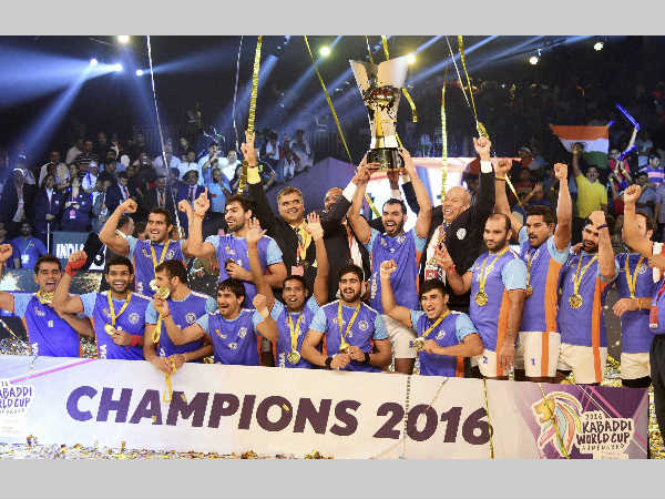 Kabaddi India S World Cup Winners Get Rs 10 Lakh Each Government