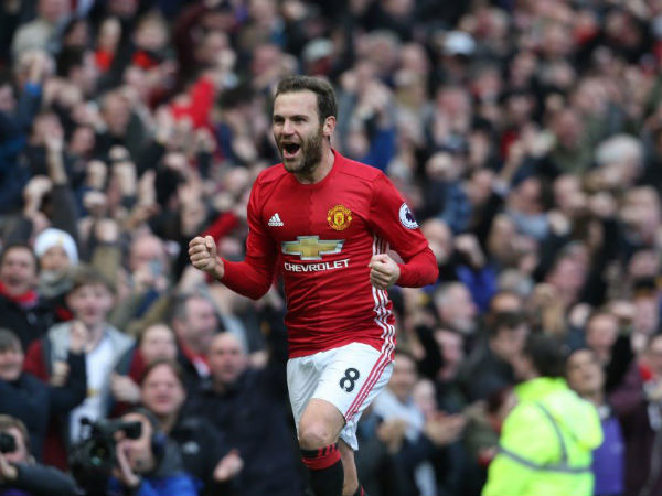 Manchester Uniteds Juan Mata will be a free agent in June