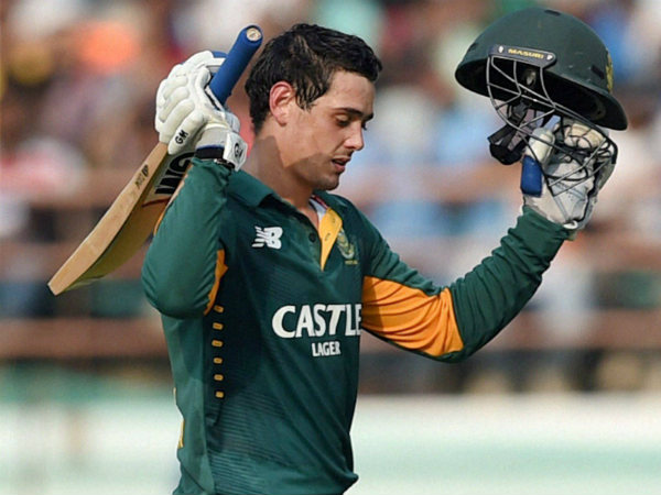 Quinton de Kock named ODI Cricketer of the Year