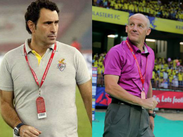 From left: Jose Molina and Steve Coppell (Images courtesy: ISL Twitter handle)
