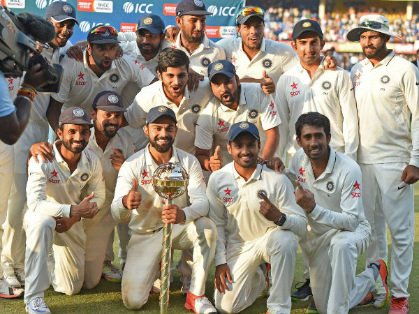 Team India became No. 1 in Tests