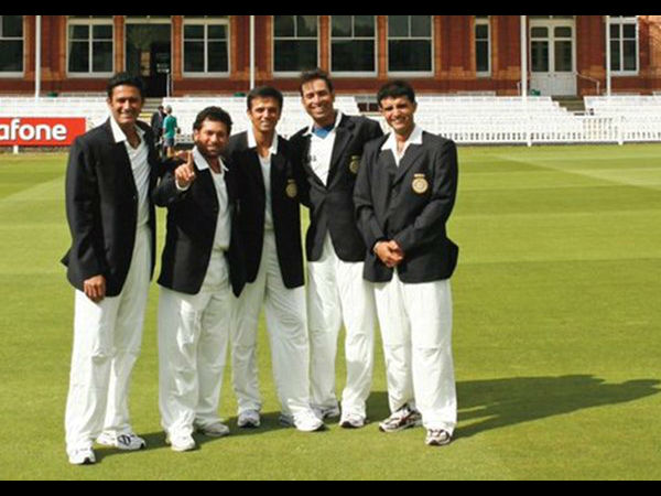 The Fab-Five of Indian cricket