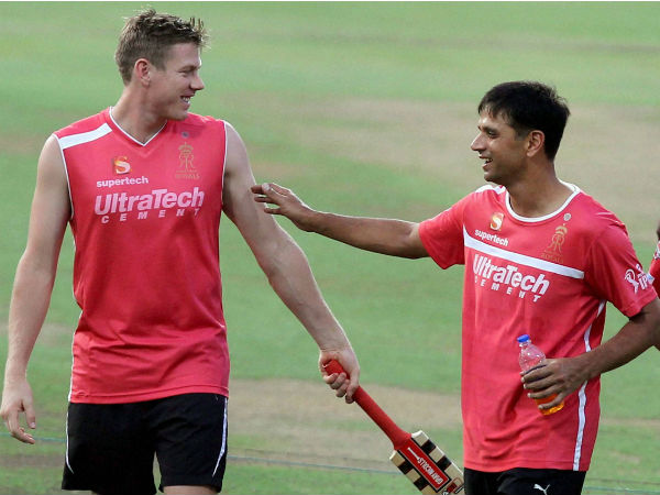 Dravid popular among overseas' cricketers too