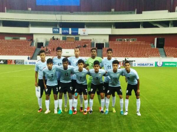 India U 17 Football Team Lose Estonia