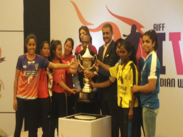 Indian women's league inauguration (Image courtesy: Indian Football Team Twitter handle)