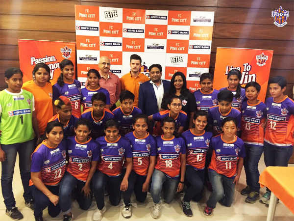 Fc Pune City women's football team (Image courtesy: Pune City Twitter handle)