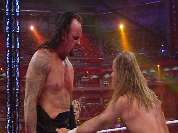 Undertaker (left) and HBK will return on tonight's Raw (Image courtesy wwe.com)
