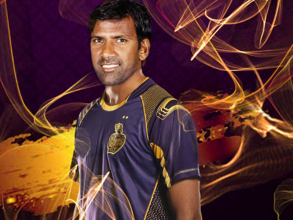 Laxmipathy Balaji (Image courtesy: KKR official Twitter handle)