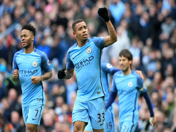 Manchester City 2-1 Swansea City