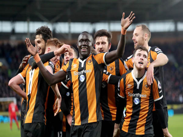 Hull City 2-0 Liverpool