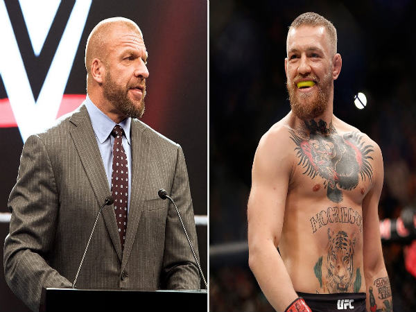 Triple H and Conor McGregor (Image courtesy: Youtube)