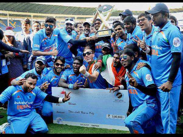 BCCI lauds Indian team for triumph in T20 World Cup for Blind