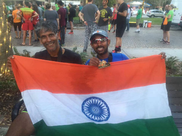 From Ironman Ultraman Milind Soman Completes World S Toughest Marathon