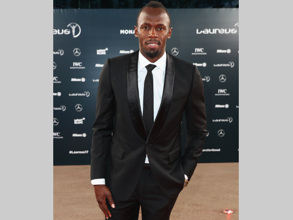 Usian Bolt attends the 2017 Laureus World Sports Awards at the Salle des Etoiles,Sporting Monte Carlo on February 14, in Monaco. He won the top award