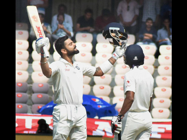 Hyderabad Test, Day 2: Kohli's 204 and Saha's ton extend India's domination