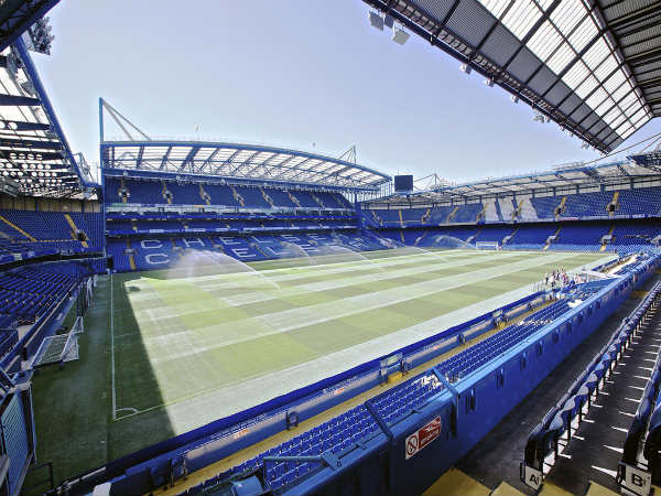 Chelsea's football stadium Stamford Bridge (Image courtesy: Stamford Bridge Twitter handle)