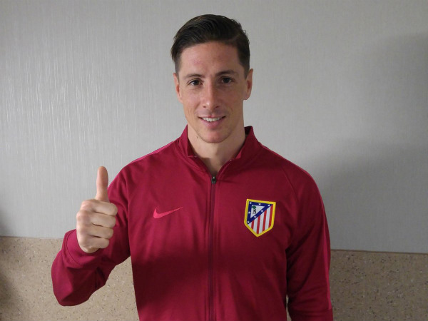 Fernando Torres (Image courtesy: Atletico Madrid Twitter handle)