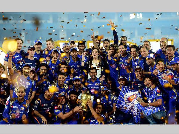 IPL 2017 Winner - Mumbai Indians (MI)
