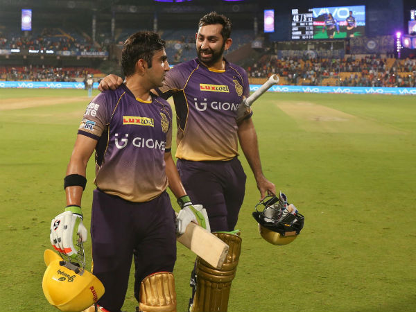 IPL 2017: KKR beat SRH by 7 wickets in rain curtailed match, make it to Qualifier 2