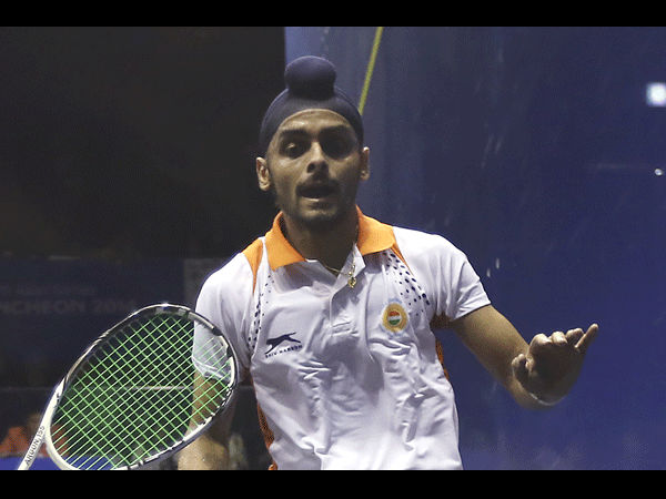 Squash India S Harinder Pal Sandhu Bags Another Psa Title