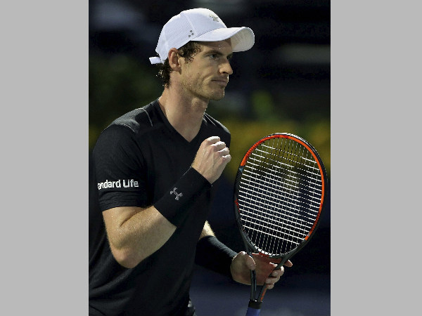 File photo: Andy Murray
