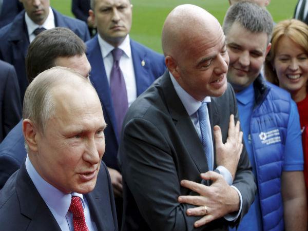 Vladimir Putin Promises High Level Preparations Upcoming Football Events