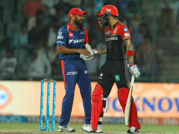 IPL 2017: Match 56 Highlights: Delhi Vs Bangalore; Virat Kohli slams 30th IPL fifty