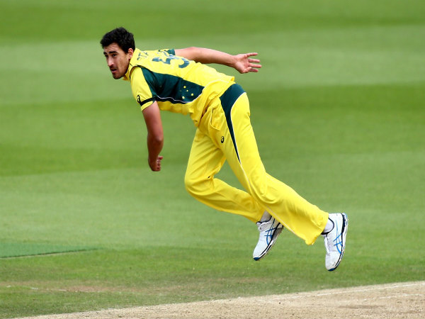 Mitchell Starc (Image courtesy: ICC Twitter handle)
