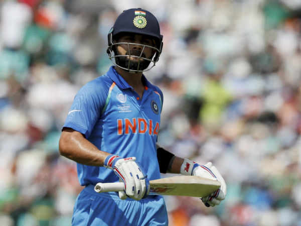 5. Kohli didn't think out of the box after top-order collapse