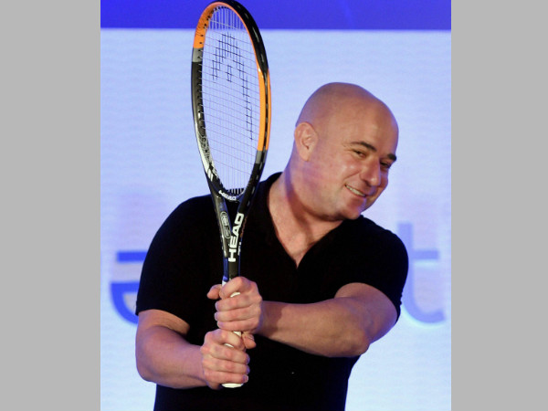 File photo: Andre Agassi