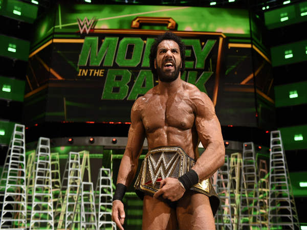 Jinder Mahal With his WWE Championship)
