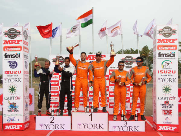 Indian National Rally Championship Gaurav Gill Wins Round