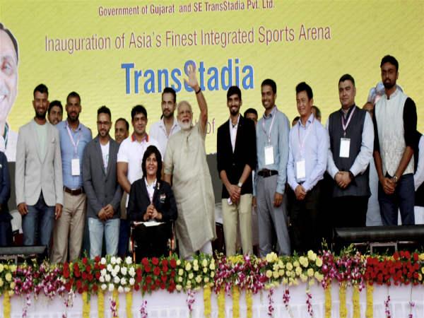 Prime Minister Narendra Modi Bats Sports As Career Hails Sp