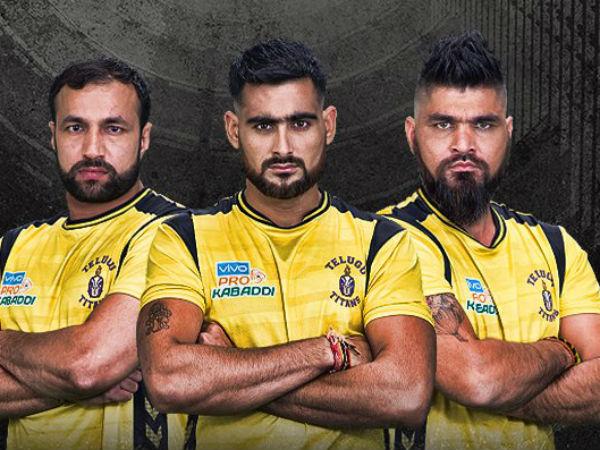 Pro Kabaddi League 2017 Telugu Titans Crush Tamil Thalaivas Rahul Chaudhari